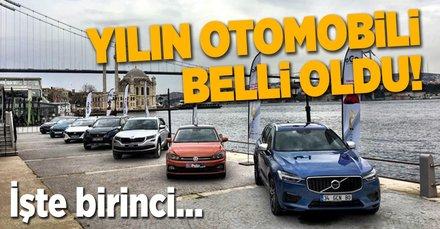 Türkiye'de 'Yılın Otomobili' belli oldu