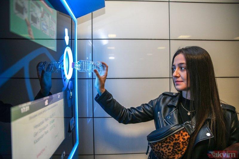 Pet şişeni at, İstanbulkart'ını doldur uygulaması başladı