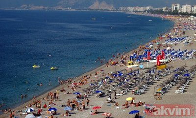 Antalya'da turist rekoru
