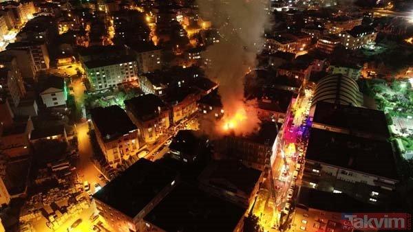 Gebze'deki yangını vatandaşlar gülerek izledi