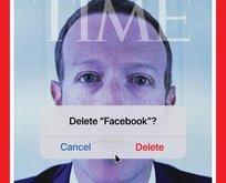 """Facebook'u sil?"""