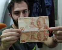 ATM'ye gitti 50 TL çekti zengin oldu!