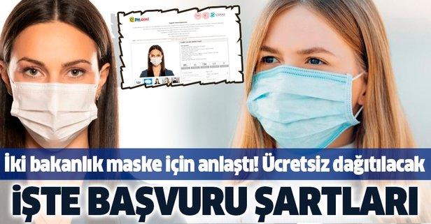 PTT ücretsiz maske dağıtımına başlıyor!