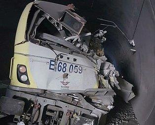 Bilecik'te tren kazası! Ölüler var