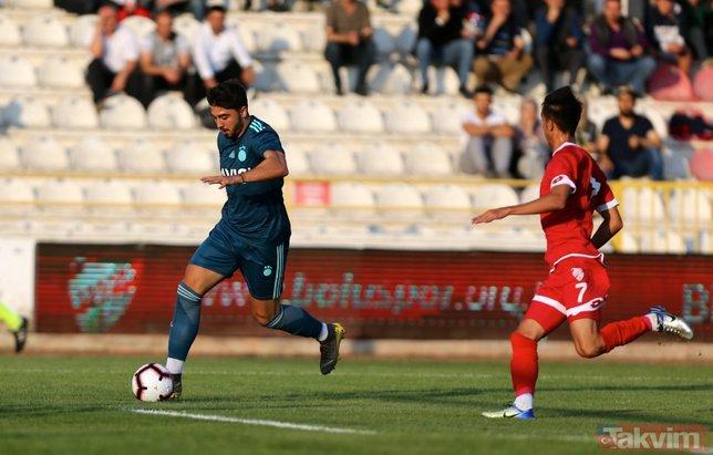 Fenerbahçe hazırlık maçında Boluspor'u 2-0 mağlup etti