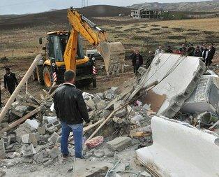 Kerpiç ev çöktü 1 ölü 6 yaralı
