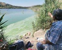 Eymir Gölü'ndeki manzaraya ODTÜ'den açıklama