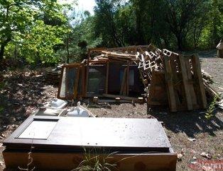 Görenler şok oldu! 1500 TL'ye hayalindeki evi yaptı... İşte o evin son hali