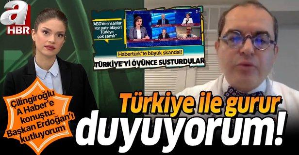 Türkiye ile gurur duyuyorum!