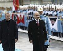 Irak Cumhurbaşkanı Ankara'da