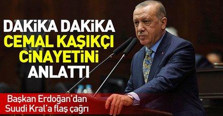 Son dakika: Başkan Erdoğan'dan Cemal Kaşıkçı ve Andımız açıklaması (AK Parti grup toplantısı)
