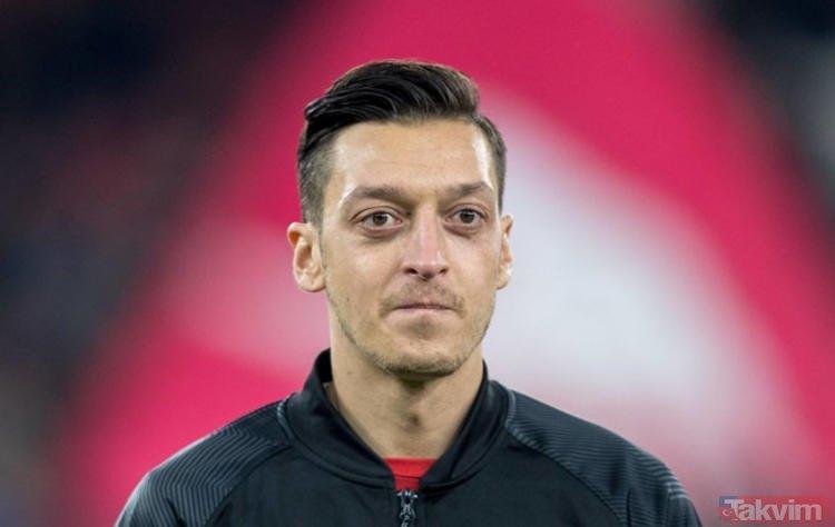 Mesut Özil'e çirkin saldırı!