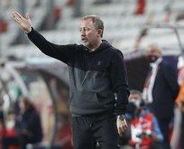 Beşiktaş yönetimi ile teknik direktör Sergen Yalçın arasında