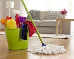 Evinizi haftada 3 kez temizleyin