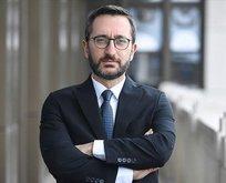 Fahrettin Altun'dan Emmanuel Macron'a tepki