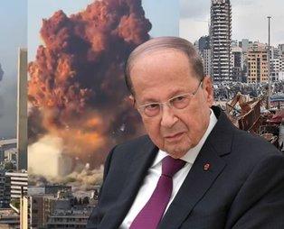 Lübnan Cumhurbaşkanı Mişel Avn: Patlamanın nedenleri netleşmedi; füze, bomba veya bir dış etken olabilir