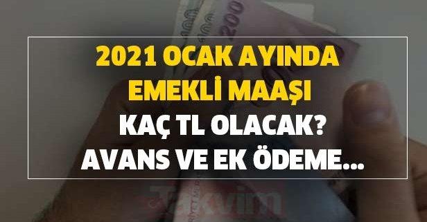 SSK-SGK ve Bağkur emeklilerinin yeni maaş miktarları belli oldu!