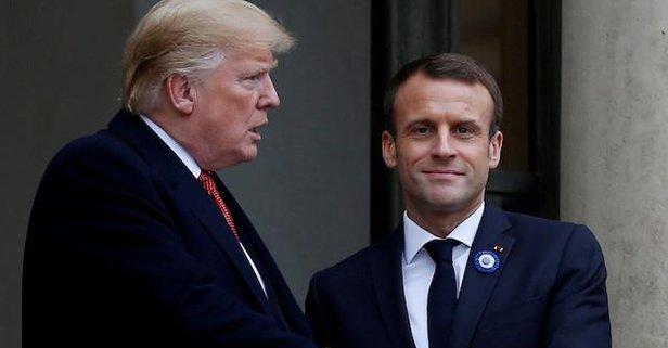 Trump'ın ardından Macron da açıkladı! Gitmeyecek