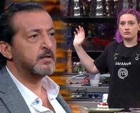 Mehmet Yalçınkaya Masterchef Safanur'un yediğini burnundan getirdi!