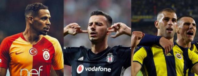 Süper Lig'in en değerli futbolcu listesi güncellendi!