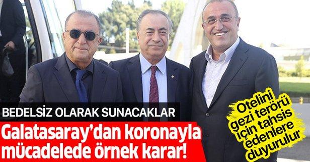 Galatasaray'dan koronayla mücadelede örnek karar