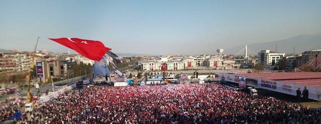 Başkan Erdoğan Kocaeli'de böyle karşılandı