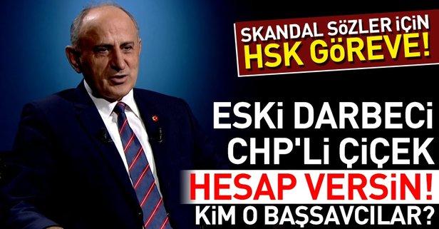 CHPli Dursun Çiçek skandal sözleri için hesap versin!