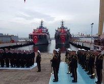 TCG AKIN (A-584) Deniz Kuvvetleri Komutanlığı'na törenle teslim edildi