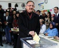Özhaseki'nin oy kullandığı sandıktaki oy dağılımı belli oldu