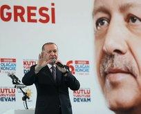 Erdoğan: Ya bu oyunu bozacağız ya da bir asır prangalarla yaşayacağız!