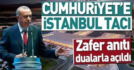 Cumhuriyet'e İstanbul tacı