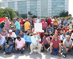 Ekmek nöbetindeki işçilere AK Parti'den destek!