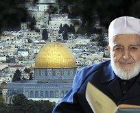 Filistin'den Alim Muhammed Emin Saraç için taziye mesajı