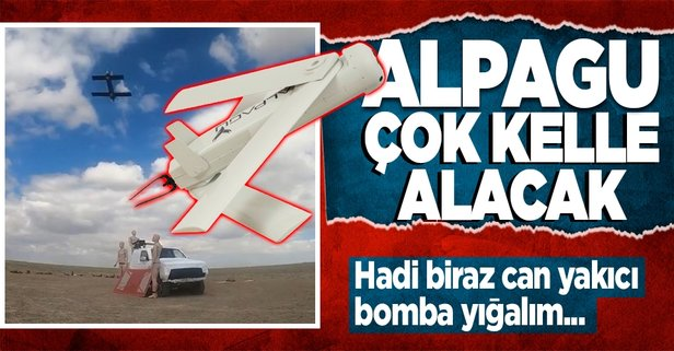Can yakıcı milli silahımız Alpagu...