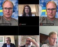İsveç Dışişleri Bakanı Linde'den skandal haraket