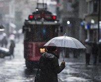 İstanbul için gök gürültülü sağanak uyarısı!