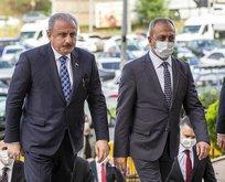 Meclis Başkanı Şentop'tan kritik ziyaret