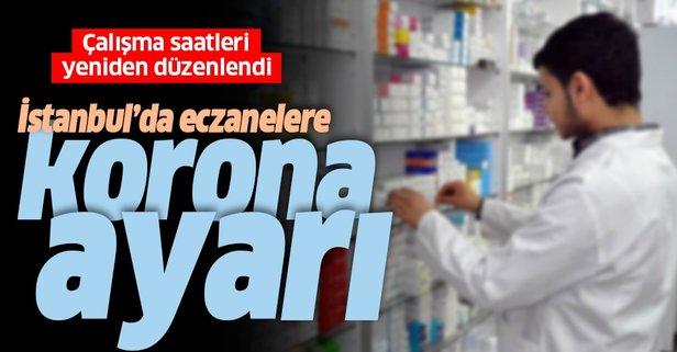 İstanbul'da eczane çalışma saatlerine düzenleme