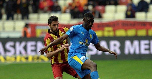 Malatya'da 3 puan 3 golle geldi