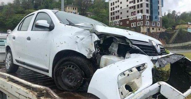 MHP MYK üyeleri kaza yaptı: Yaralılar var