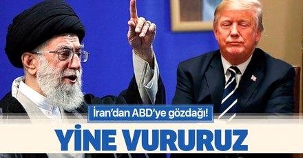 İran'dan ABD'ye gözdağı: Hava sahamız ihlal edilirse yine vururuz