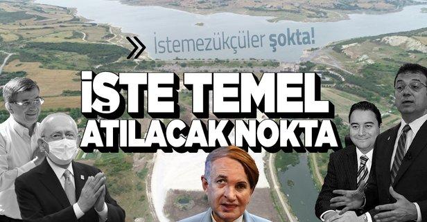 İşte Kanal İstanbul'un temelinin atılacağı nokta