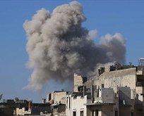 Rusya İdlib'i vurdu
