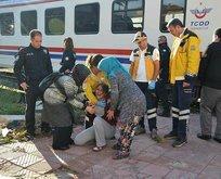 Manisada korkunç kaza! Trenin altında kaldı