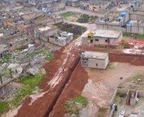 Ayn El Arab'daki tünel ve hendekler böyle görüntülendi!