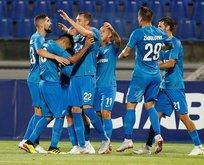 Zenit 4 yediği Minsk'i 8-1'lik skorla eledi