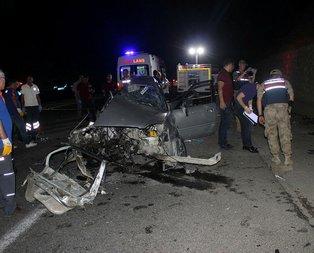 İzine giden uzman çavuş trafik kazasında öldü