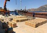 Türk narkotik ekiplerinden Cezayir açıklarında operasyon! Gemide 12 ton esrar ele geçirildi (Video)