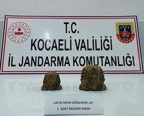 Kocaeli'de tarihi eser operasyonu: Son anda kurtarıldı