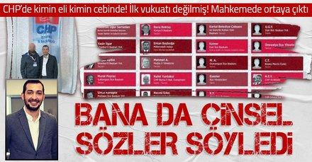 CHP'nin tacizci Ümraniye Gençlik Kolları eski Başkanı'nın ilk vukuatı değilmiş! Mahkeme salonunda şok sözler: Bana da...